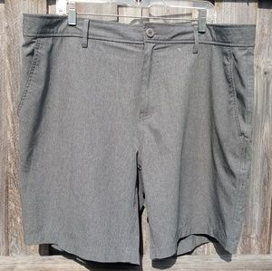 32 Degrees Men's Hybrid Gray Stretch Shorts 40